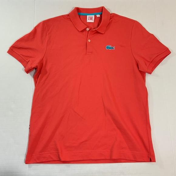 4f525395 Lacoste Shirts   Mens Live Big Logo Polo Tee Shirt 7 Xl   Poshmark